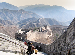 Great Wall - Badaling (Rambo2100) Tags: badaling china greatwall tourism rambo2100 beijing travel mingdynasty richardnixon
