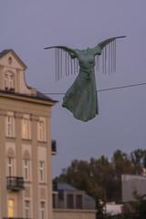 2016-09-28 Krakw (Jacek P.) Tags: poland krakw kadka rzeba sculpture balanced kedziora