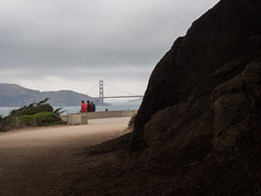 Enjoying the Golden Gate Bridge (eekim) Tags: landsend light ocean richmonddistrict goldengatebridge outerrichmond sanfrancisco california unitedstates us