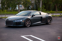 Audi R8 Vossen Forged CG-204 - H&R Coilovers Install  -  Vossen Wheels 2016 -  1095 (VossenWheels) Tags: audi audiaftermarketwheels audiforgedwheels audir8 audir8forgedwheelsl audir8install audiwheels cgwheels cg204 hr hrcoilovers platinum polished r8 r8aftermarketwheels r8forgedwheels vossenwheels2016