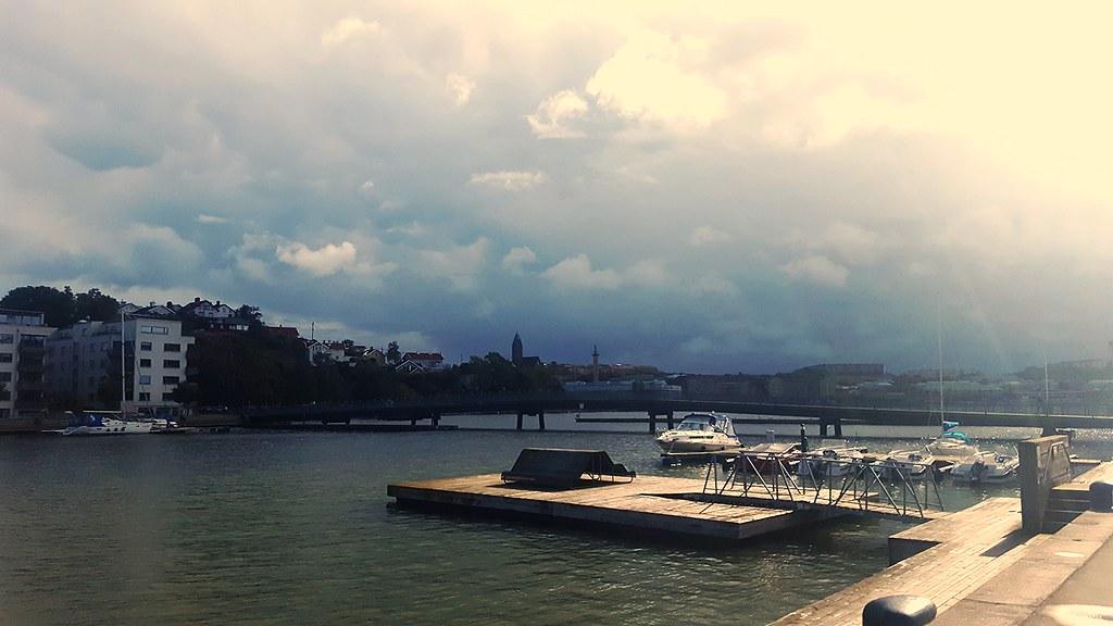 250ef4f64fc3 Sannegården (blondinrikard) Tags: sannegården sannegårdshamnen hisingen  göteborg harbor water boats