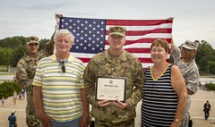 SFC Ahern re-enlistment 9 (Armed Services Blood Program) Tags: armedservicesbloodprogram asbp sfc ahern sgt 1st class john fahie captain army blood
