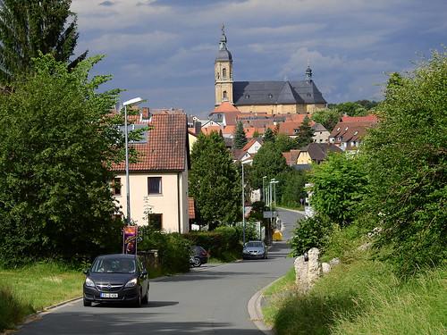 Gößweinstein vom Süden