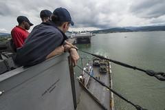 161011-N-JS726-335 (CTF 76) Tags: navy marines amphibiousassault subicbay phiblex bonhommerichard expeditionarystrikegroup underway deployment military portvisit subicbayphilippines
