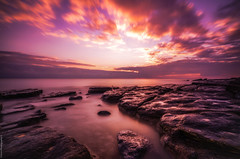 Dunraven Bay, S.Wales. #2 (Rob Escott - (E-form Photography)) Tags: dunravenbay swales beach wales water sunset welshcoastline welshlandscape nikond7000 longexposure movement wideangle