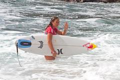 Target Maui Pro winner Carissa Moore (bluewavechris) Tags: ocean sea water hawaii surf surfer maui surfboard target thebay swell redbull hurley honoluabay schick surfergirl honolua