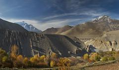 Mustang Fall (Andrei Doubrovski) Tags: nepal trekking trek nikon upper 24mm mustang d800 nilgiri
