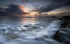 The Tide is High (Elidor.) Tags: morning cloud sunrise dawn coast tide wave northumberland northeast eastcoast howick craster d90 elidor cullernosepoint