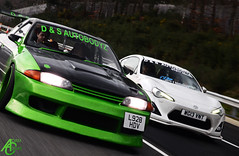 Duel (AdamC3046) Tags: bunny cars car skyline mod nissan motorway body wide toyota rocket tuner m3 jap riders r32 widebody 2014 tuned gt86 japriders