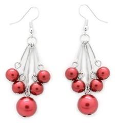 5th Avenue Red Earrings P5920-3
