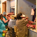 Carne de lhama no mercado de Uyuni