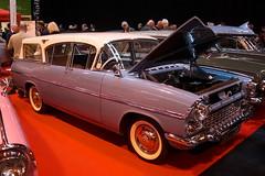 1959 Vauxhall Cresta Friary Estate (BSJ 262) 2300cc - Lancaster Insurance Classic Motor Show - Birmingham NEC (anorakin) Tags: birmingham 1959 nec vauxhall cresta vauxhallcresta 2300cc friaryestate lancasterinsuranceclassicmotorshow bsj262