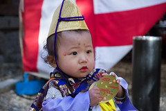 Japanese festival (HumptyDumpty) Tags: baby love temple costume child an celebration event      catamite