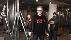333 Half Evil, NRK P13 (Rune Lind) Tags: radio tv behind scenes nrk atle norsk the dimmu borgir p13 gitarist marienlyst programleder kopperud rikskringkasting nrkp13 olavviksmoslettan333halfevilradiounderholdningraviivarjohansenivar johansensven