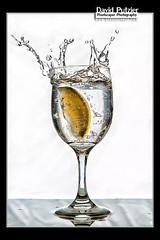 Lemon Drop (Dave Putzier) Tags: water glass fruit lemon wine drop splash liquid flickrandroidapp:filter=none