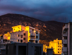 sunset (raymond_zoller) Tags: sunset mountains bar evening abend sonnenuntergang haus places berge montenegro дом закат бар crnagora горы вечер черногория raymondzoller