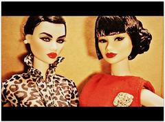 Cinerama (Deejay Bafaroy) Tags: red portrait brown black rot fashion closeup toys dangerous doll dolls know barbie porträt lips to braun fr opium schwarz royalty ayumi puppe puppen sato cinerama integrity lippen animalprint fr2 jasonwu kyori