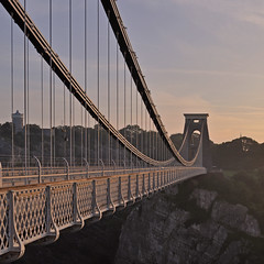 UK - Bristol - Clifton Suspension Bridge (Harshil.Shah) Tags: uk morning bridge england southwest west sunrise bristol suspension britain south united great kingdom gb avon clifton brunel