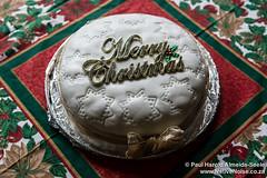 Eating Warren's Christmas Cake