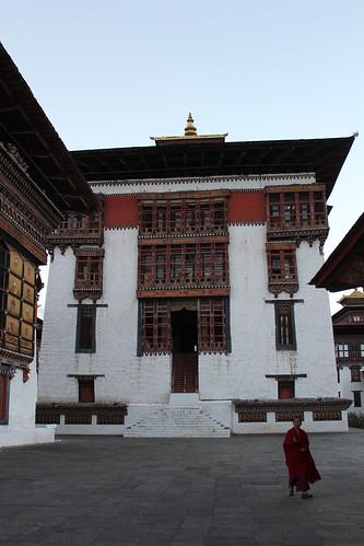 Thimphu, Tashichho Dzong, utse