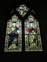 St Margaret's Church, Rainham, Kent: stained glass window