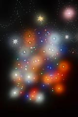 Christmas Glow (JeffCarter629) Tags: christmas christmaslights ge generalelectric vintagechristmas vintagechristmaslights generalelectricchristmas gechristmas gechristmaslights generalelectricchristmaslights 2014christmasyard