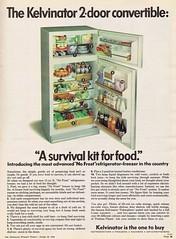 Kelvinator 1968 (Runabout63) Tags: advert refrigerator kelvinator