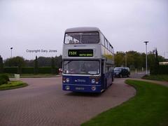 6898 TVP 898S (onthebeast) Tags: travel west bus museum fleetline midlands tvp wythall 6898 wmt 898s