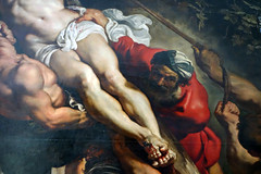 Rubens, Elevation triptych, detail with legs