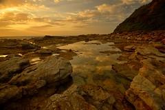 Chalky Beach Pool (Paul Hollins) Tags: sunrise dawn nikon rocks australia nsw aus d610 theblacksmith nikkor1735f28 swanseaheads chalkybeach