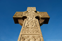 Celtic Cross 1 (G Davidson) Tags: uk scotland cross gravestone celtic 2014
