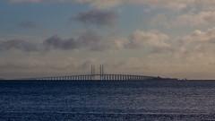 The Bridge II (Helen Flynn) Tags: canon copenhagen denmark oresundbridge 50d