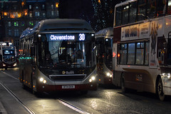 22 (Callum's Buses & Stuff) Tags: street man bus buses volvo edinburgh iron princes hybrid lothian 7900 madder lothianbuses edinburghbus madderandwhite madderwhite busesedinburgh