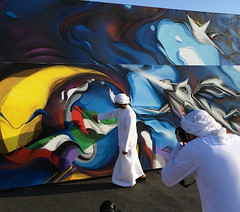 Dubai, UAE (Digitaldoes) Tags: graffiti dubai artist does graffitiart digitaldoes mydubai