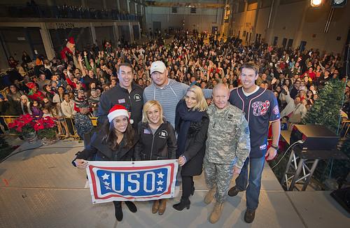 2014 Chairman USO Holiday Tour