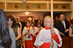 Ring Ceremony 2014 (Mass) (SFA Union City) Tags: event activity ringceremony stfrancisacademy
