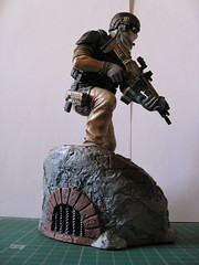 Staff Sergeant John Dmitri Kozak (FSV-2009) Tags: tom soldier ghost future figure clancy ps3 recon grfs