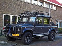 Land Rover Defender 110 TD5 Crew Cab (denniselzinga) Tags: diesel pickup landrover tombraider limitededition defender specialedition td5 crewcab 80vzln