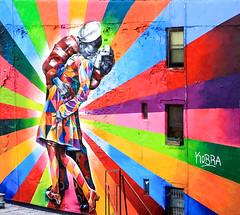 Eduardo Kobra - Kissing - High Line - Chelsea - New York