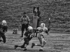 Sack (AppStateJay) Tags: county sports football nc student action sony qb sack athlete defense tackle wilkes linebacker yellowjackets fourthdown olb tjca sonydschx300 thomasjeffersonclassicalacademy turnoverondowns