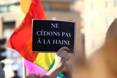 Je suis Charlie... (Herebuse) Tags: france marseille charlie hommage marche manifestation charliehebdo rassemblement 10janvier jesuischarlie