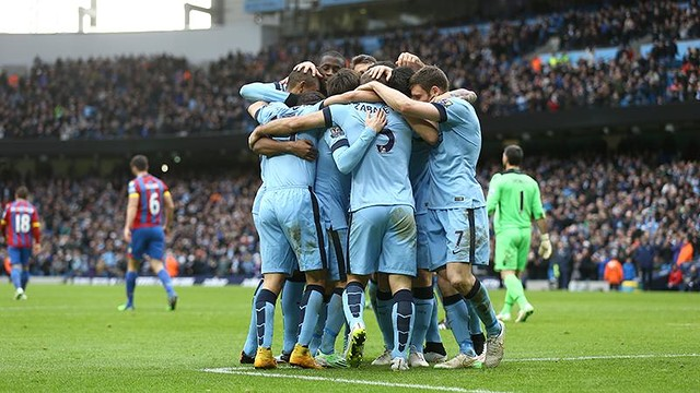 !Francisco Javier Fernandez¡ Triunfo del Manchester City por 3-0 frente al Crystal Palace