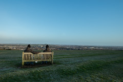 Talking to myself (@Dave) Tags: morning cold monument sunrise nikon hill january hills chilly nikkor dslr beacon brrrr lickey 2015 d600