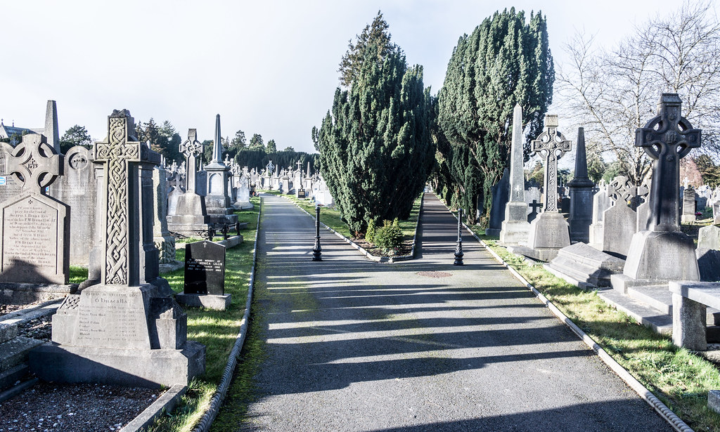 Glasnevin Cemetery, officially known as Prospect Cemetery REF-101128