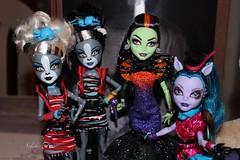 Monster High group (Nikola Doll) Tags: monster high fierce zombie freaky shake fusion mattel avea trotter casta purrsephone meowlody