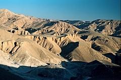 Valley of the Kings, Egypt (Ron's travel site) Tags: 35mm northafrica egypt 1999 filmcamera om1 olympusom1 valleyofthekings flickrandroidapp:filter=none ronstravelsite nrluxor