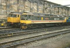 BR Class 47 47541.47112.47334 - Carlisle (dwb transport photos) Tags: diesel scotrail locomotive carlisle britishrailways thequeenmother 47112 47541 47334