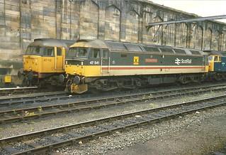 BR Class 47 47541.47112.47334 - Carlisle