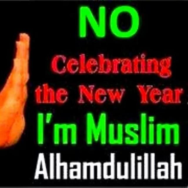 السلام عليكم ورحمة الله وبركاته   We are not going to celebrate you. We are in 1436. ** Shame on such muslims who will update thier status as Happy NEW YEAR 2015 ** May Allah Show Us The Right Track (AAMEEN)  نحن لن نحتفل لك. نحن في 1436. عار على تلك