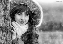 Winter Portrait (Mario Vani) Tags: winter snow bn neve portrtait inverno ritratto blakandwhit